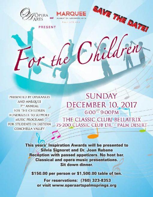Opera Arts For the Children 2017
